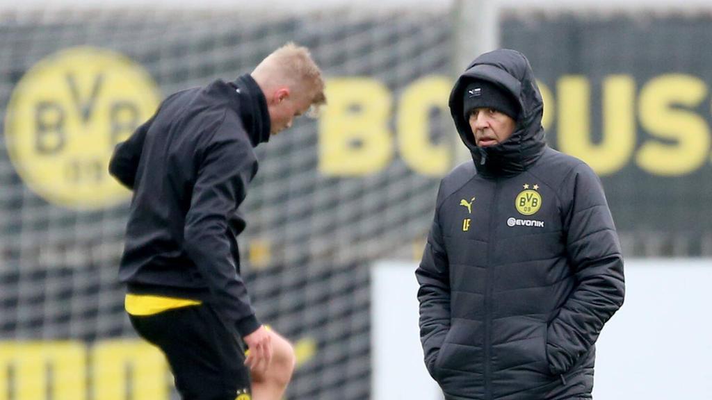 Setzt Lucien Favre beim BVB schon im ersten Rückrundenspiel auf Erling Haaland?