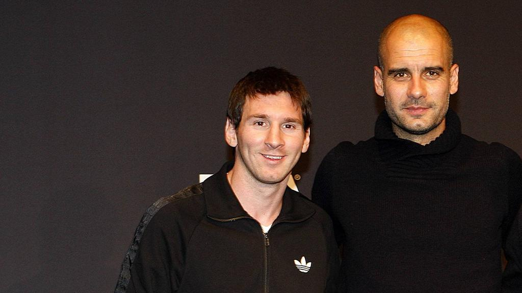 Messi und Pep: Ein Bild aus alten Zeiten