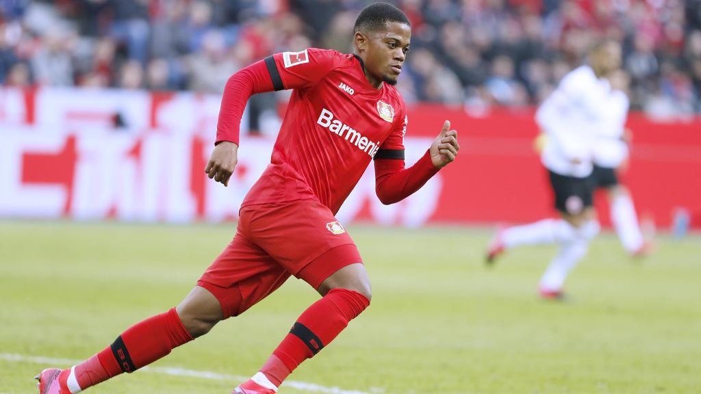 Leon Bailey trifft mit Bayer Leverkusen auf den FC Bayern