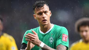 Bleibt nach dem Klassenerhalt bei Werder: Hertha-Leihgabe Davie Selke