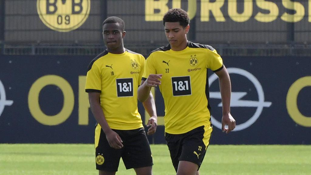 Youssoufa Moukoko und Jude Bellingham gehören zur BVB-Abteilung Jugend forscht