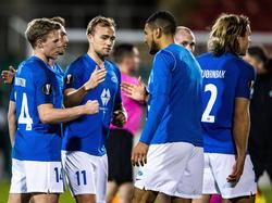 Molde ist bereit für das Heimmatch gegen Rapid