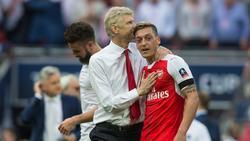 Arsène Wenger schwärmte von Mesut Özil