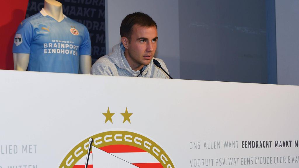 Steht vor seinem ersten Einsatz bei PSV Eindhoven: Mario Götze