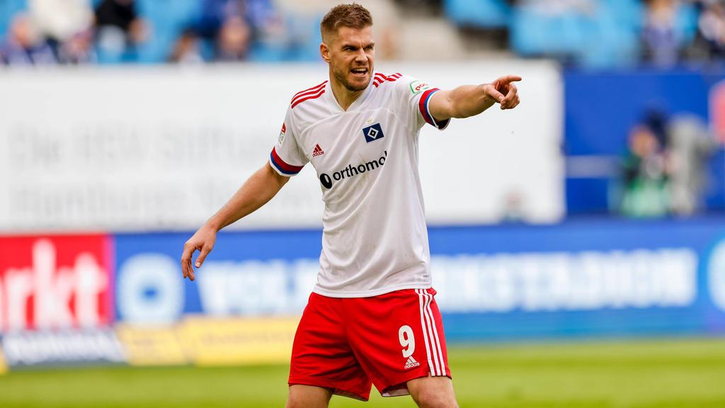 Simon Terodde soll den HSV auch im Derby zum Sieg schießen