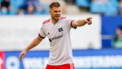 HSV-Torjäger Simon Terodde unterschrieb im Sommer für ein Jahr