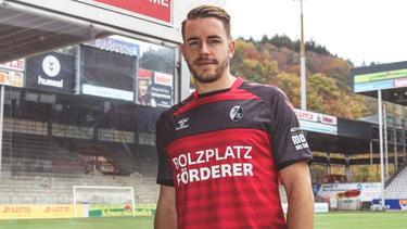 Gegen Mainz 05 läuft der SC Freiburg im Sondertrikot auf