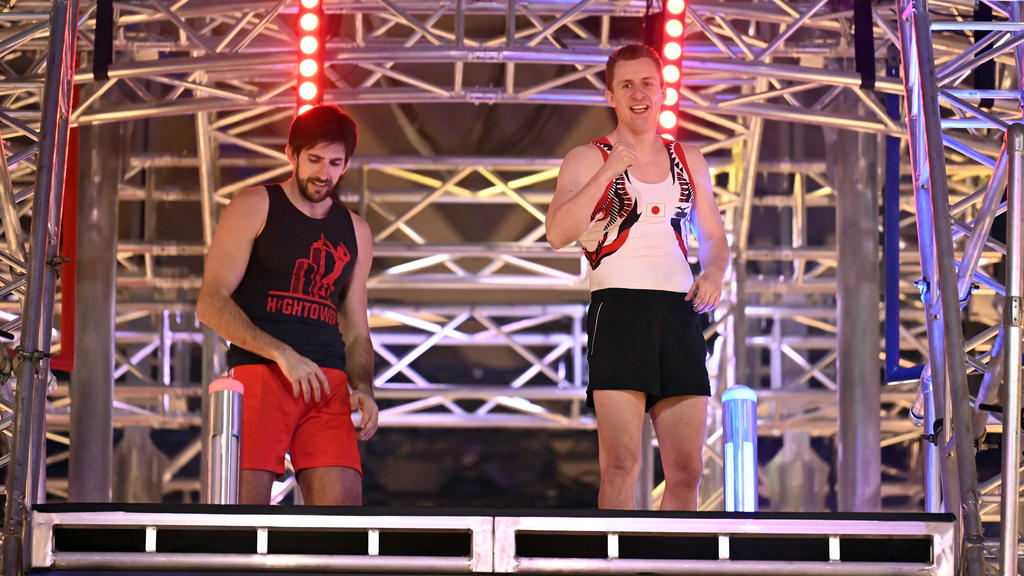 Daniel Schmidt und Christian Kirstges auf dem Power Tower