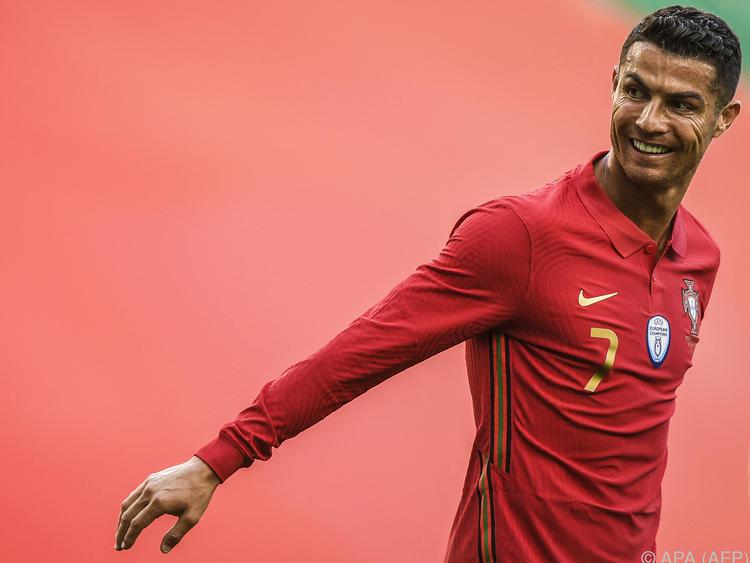 Cristiano Ronaldo peilt mit seinem Team die Titelverteidigung an