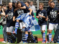 Schalke bejubelt A-Junioren-Meisterschaft 2012