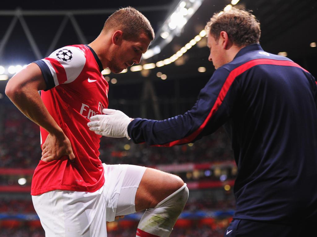 Lukas Podolski war drei Monate lang verletzt.