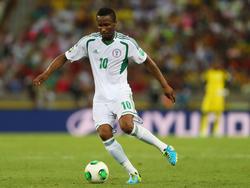 John Mikel im Einsatz für Nigeria