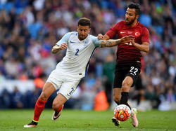 Kyle Walker en un amistoso contra Turquía. (Foto: Getty)