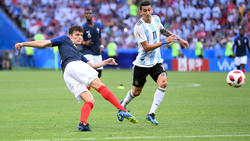 """Benjamin Pavard erzielte das """"Tor der WM"""""""