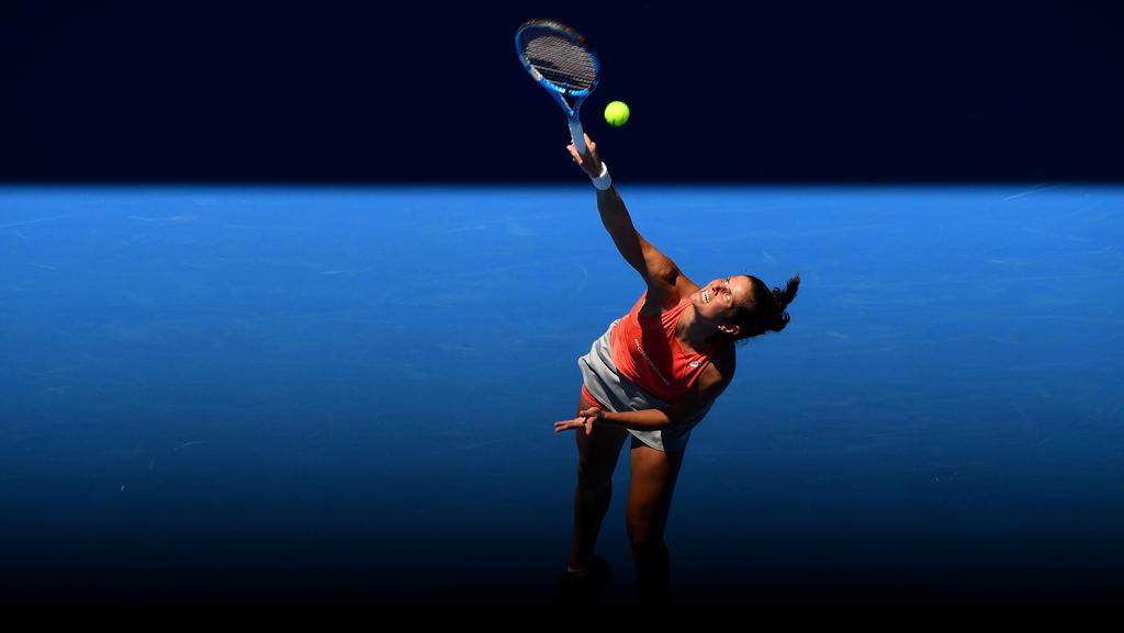 Julia Görges steht in Doha im Viertelfinale