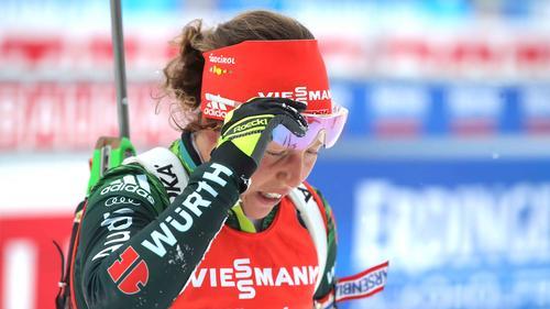 Laura Dahlmeier weiß noch nicht, ob sie weitermacht