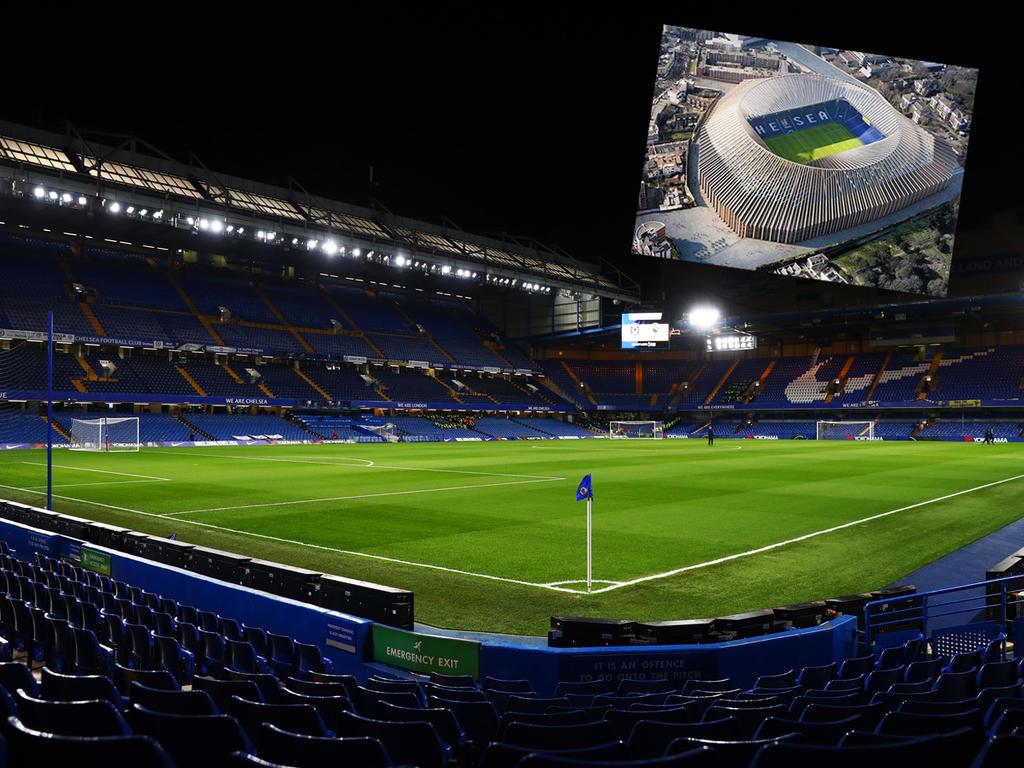 Roman Abramovich will das Stadion des FC Chelsea komplett neu bauen. © twitter.com bzw. Getty Images