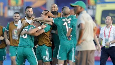 Algerien trifft beim Afrika Cup auf Nigeria