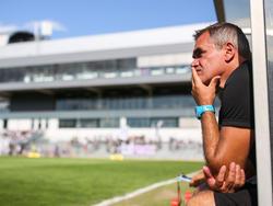 Klagenfurt-Trainer Micheu konnte am Ende aufatmen