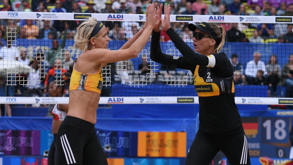 Laura Ludwig und Margareta Kozuch stehen in der nächsten Runde