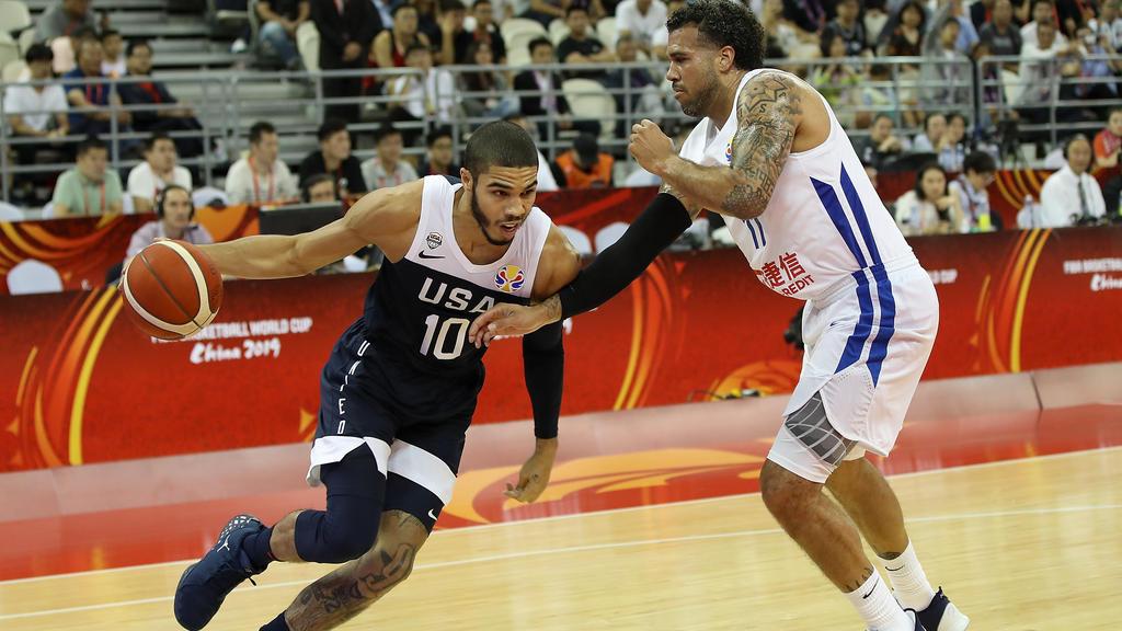 Die USA gewannen ihr Auftaktspiel bei der Basketball-WM gegen Tschechien