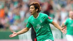 Werder-Star Yuya Osako hat sich am Oberschenkel verletzt