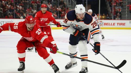 Der Treffer von Draisaitl (r.) reichte Edmonton nicht
