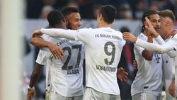 FC Bayern in der Champions League auf Rekordkurs