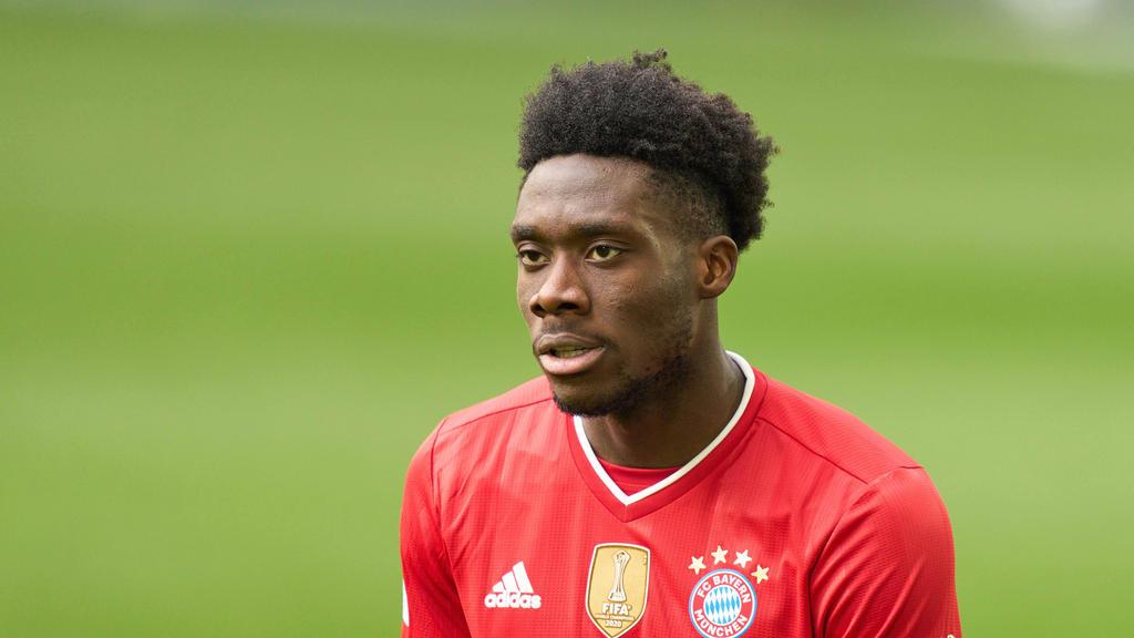 Alphonso Davies steht dem FC Bayern wohl bald wieder zur Verfügung
