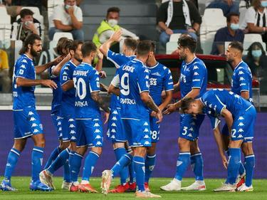 El Empoli supo imponerse gracias a su puntería.