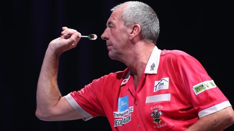 Der glückliche Sieger: Wayne Warren bei der BDO-Darts-WM in London