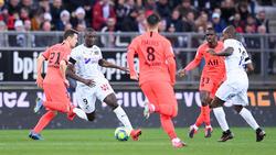 PSG mühte sich in Amiens zu einem Remis
