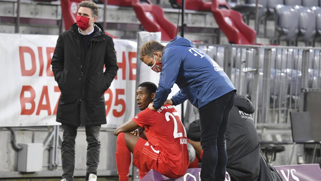David Alaba (M.) pokert weiter mit dem FC Bayern