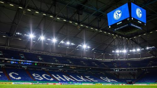 Leere oder teilweise gefüllte Ränge auf Schalke?