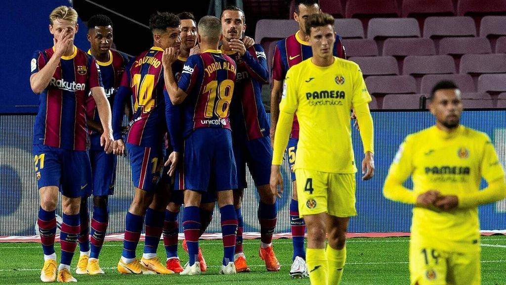 FC Barcelona überrollt Villarreal - Messi trifft