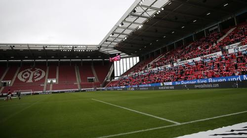 Die Arena in Mainz bleibt am Wochenende fast komplett leer