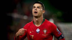 Cristiano Ronaldo infizierte sich mit Corona