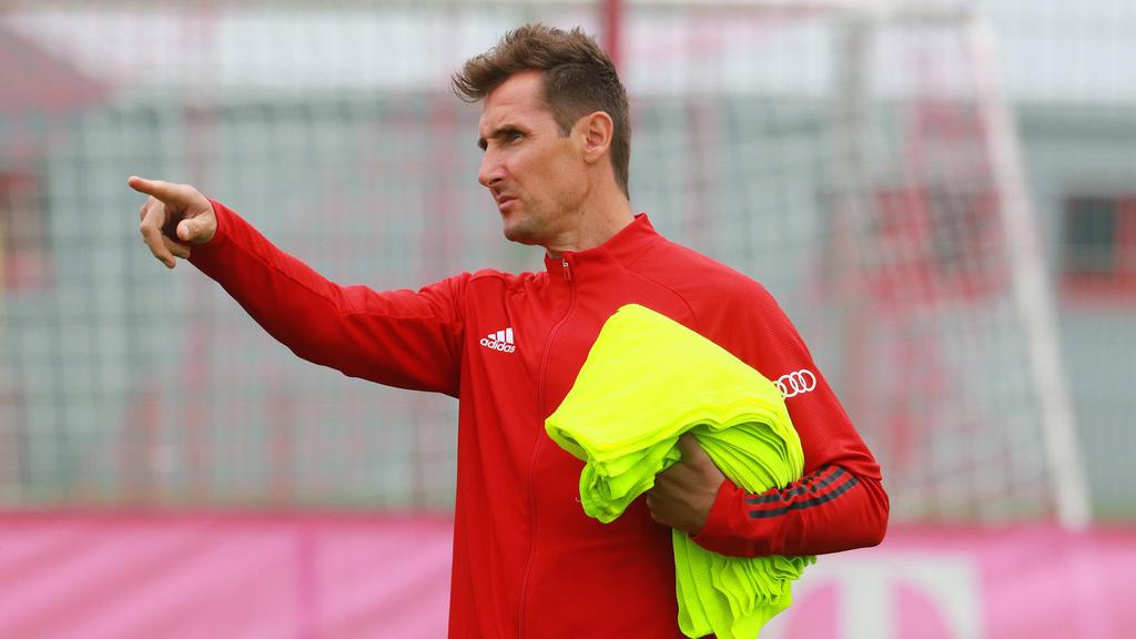 Arbeitet als Assistenztrainer beim FCBayern: Miroslav Klose