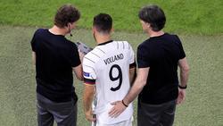 Kevin Volland musste gegen Frankreich als Linksverteidiger ran