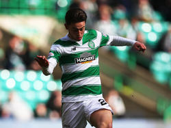 Patrick Roberts im Dress von Celtic