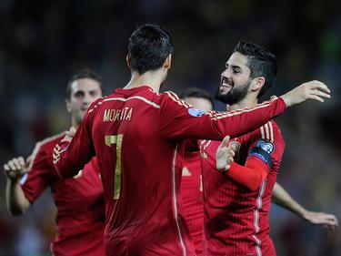 Morata entscheidet das Spiel für die Spanier