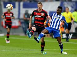 Leverkusen siegt auch gegen Hertha