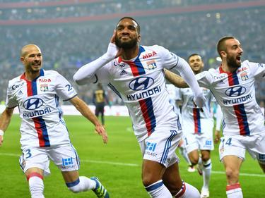 Alexandre Lacazette und sein Team machten einen großen Schritt in Richtung Champions League