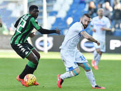 Sassuolo siegt, Tonelli fliegt