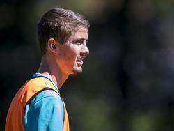 Ramon Pascal Lundqvist is met PSV mee op trainingskamp ter voorbereiding op het nieuwe seizoen in de Eredivisie. (18-07-2016)