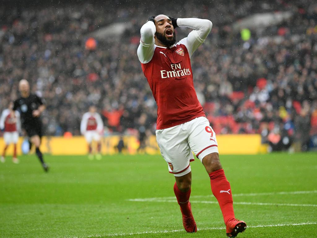 Alexandre Lacazette wird dem FC Arsenal einige Zeit fehlen