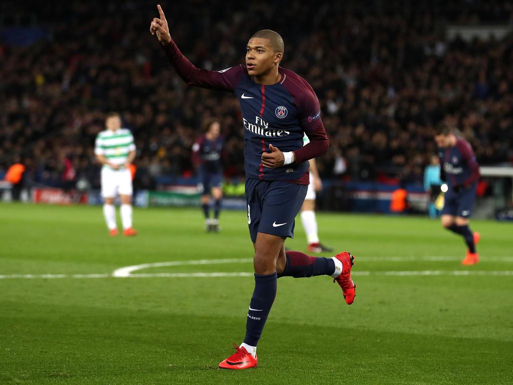 Kylian Mbappé gehört zu den großen Stars bei Paris Saint-Germain