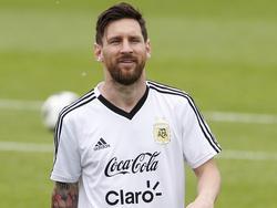 Lionel Messi hat auch auf Island mächtig Eindruck hinterlassen