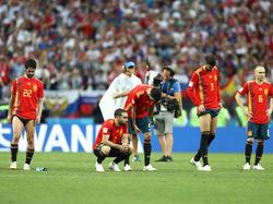 Spanien unterlag im WM-Achtelfinale Gastgeber Russland nach Elfmeterschießen