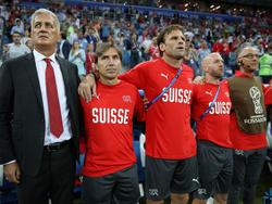 Müssen ihre Strafzahlungen nicht in Euro umrechnen: die Schweizer